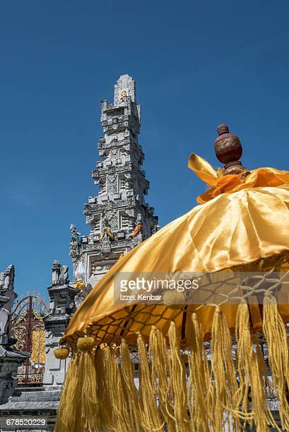 Detail of a temple in Denpasar, Bali Indonesia