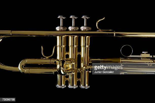Detail of a trumpet