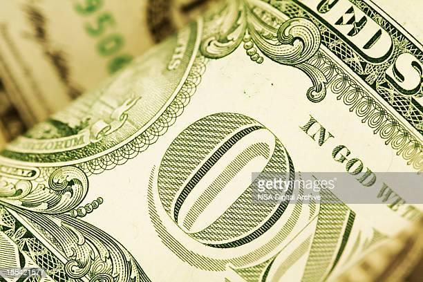 Détail d'un US dollars américains (images haute résolution)