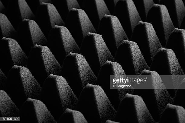 Detail of acoustic foam taken on April 12 2016