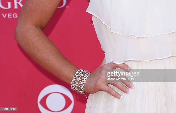 A detail of actress Jennifer Love Hewitt at the 44th annual Academy Of Country Music Awards held at the MGM Grand on April 5 2009 in Las Vegas Nevada