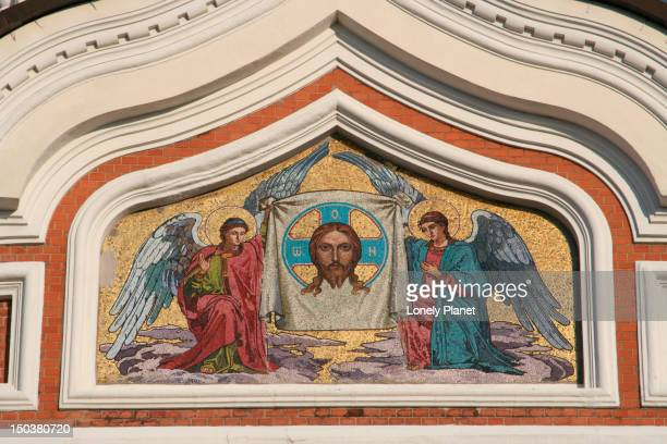 detail of alexander nevsky cathedral. - harjumaa stock pictures, royalty-free photos & images