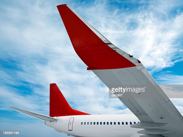 Detail von einem Flugzeug