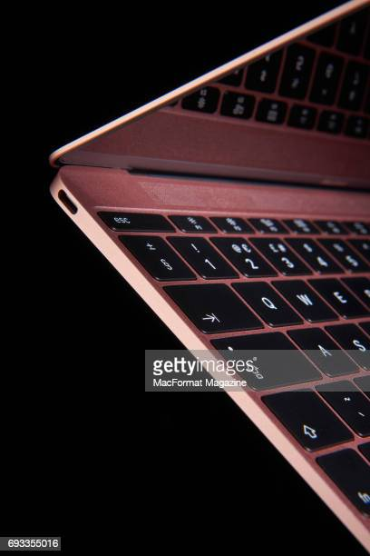 Detail of an Apple MacBook Pro laptop computer taken on October 27 2016