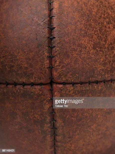 detail of an australian rules football - australian rules football stock-fotos und bilder