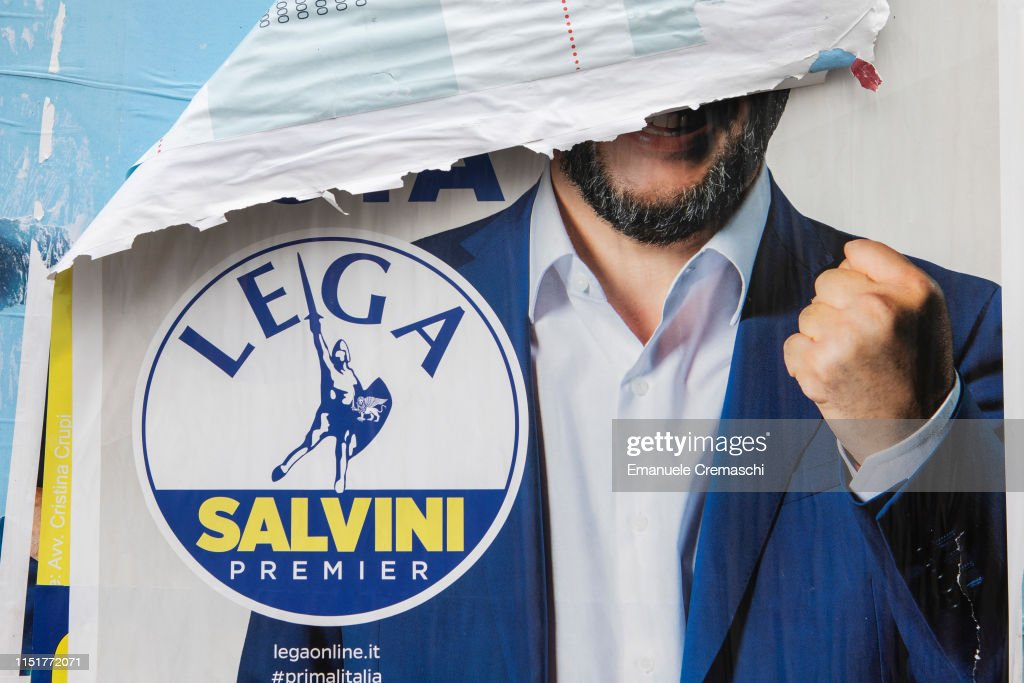 Italians Vote In The EU Elections : News Photo