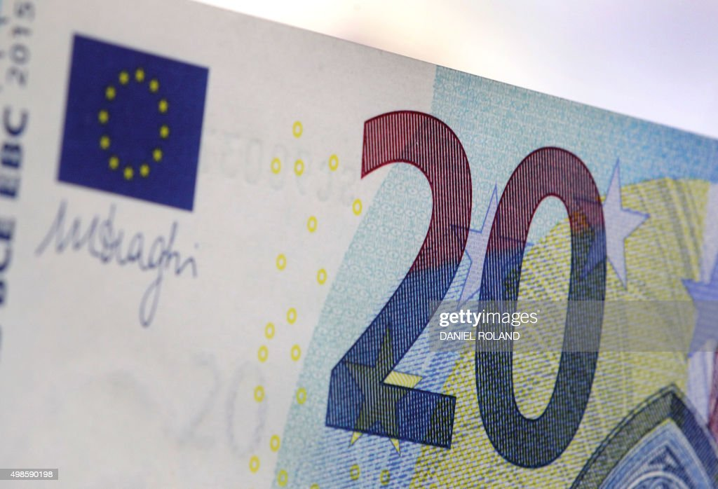 GERMANY-FINANCE-ECB-20 EURO : News Photo