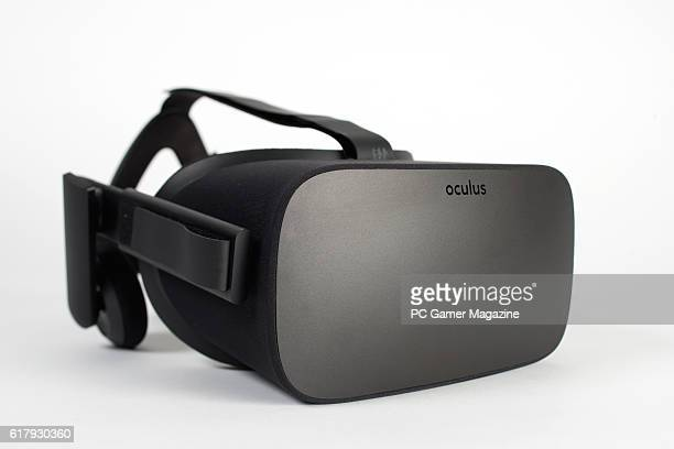Detail of an Oculus Rift virtual reality headset taken on March 8 2016