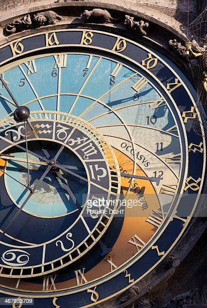 Detail of Astronomical Clock Prague Town Hall