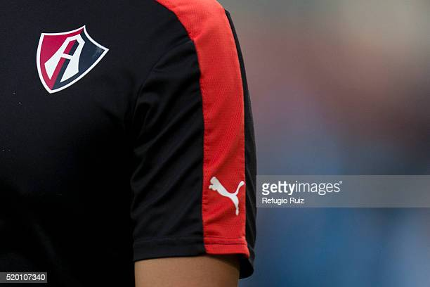 Detail of Atlas shirt prior the 13th round match between Atlas and Morelia as part of the Clausura 2016 Liga MX at Jalisco Stadium on April 09 2016...