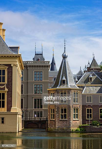 detail of binnenhof - the hague stock pictures, royalty-free photos & images