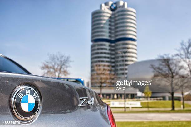 detail of bmw z4 roaster . - german culture stock pictures, royalty-free photos & images