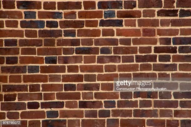Detail of brick wall.