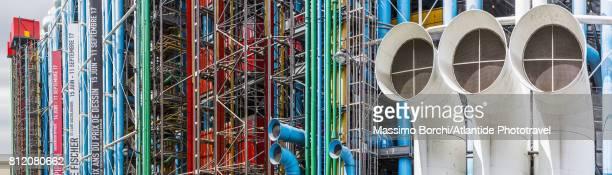 Detail of Centre Georges Pompidou