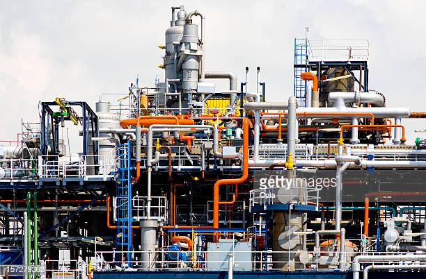 Detail der Chemiefabrik