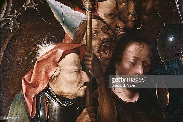Detail of Christ Before Pilate Attributed to Hieronymus Bosch