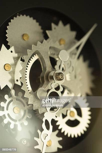 Detail of clock's mechanic