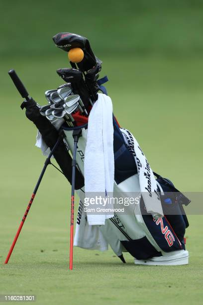 A detail of Corey Conners of Canada Ping bag during the second round of the 3M Open at TPC Twin Cities on July 05 2019 in Blaine Minnesota