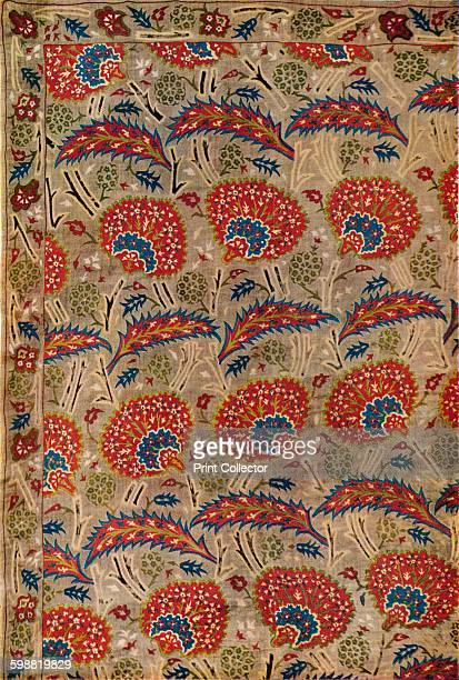 Detail of Curtain from Turkey circa 1650 From The Connoisseur Volume 101 [The Connoisseur Ltd London 1938] Artist Unknown