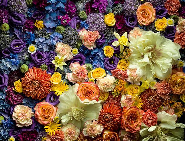 Detail Of Cut Flowers Wall Art