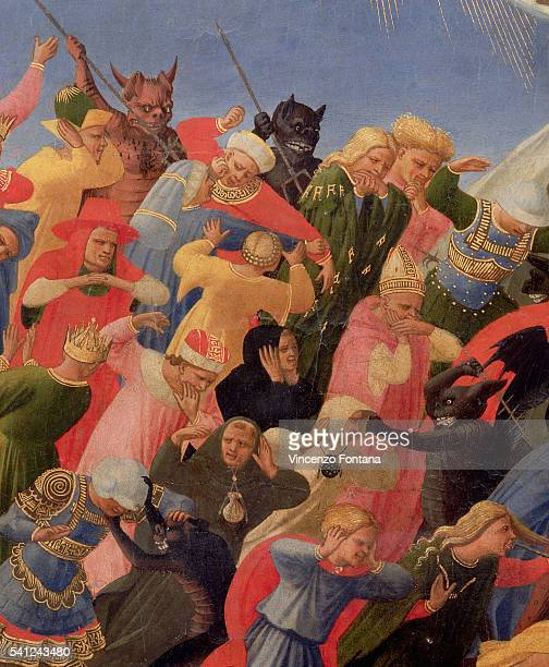 Detail of Demons and the Damned from the Last Judgment by Fra Angelico