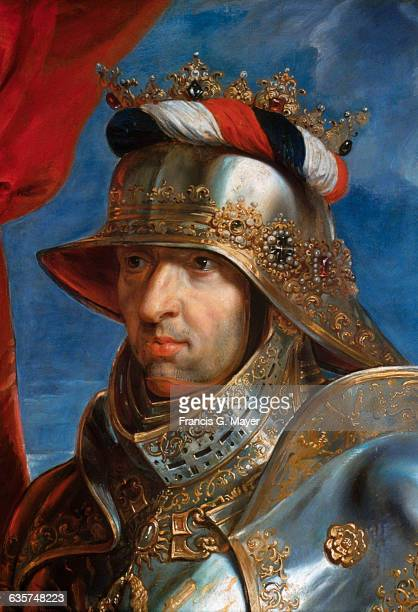 Detail of Emperor Maximilian I by Peter Paul Rubens