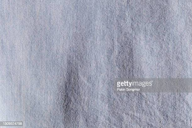 detail of empty fabric cloth polyester texture and textile background. - gray shirt stock pictures, royalty-free photos & images