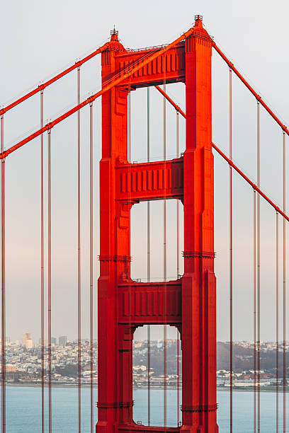 Detail of Golden Gate Bridge, San Francisco