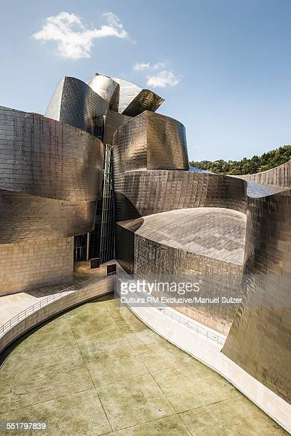 Detail of Guggenheim Museum, Bilbao, Basque, Spain