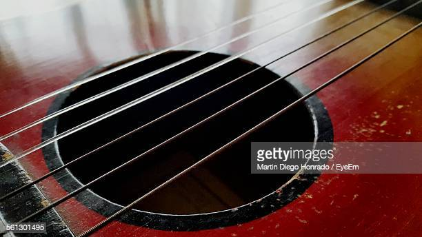 detail of guitar - martin guitar stock photos and pictures