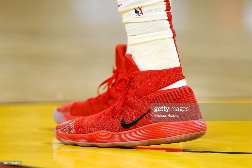 6e7f978cc9eb A detail of Hassan Whiteside of the Miami Heat s Nike React ...