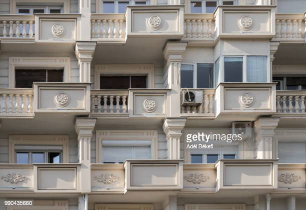 detail of house (macedonia, skopje) - skopje stock pictures, royalty-free photos & images