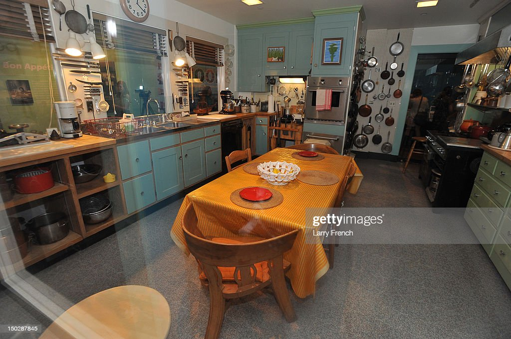 Julia Child's Kitchen Media Preview : News Photo