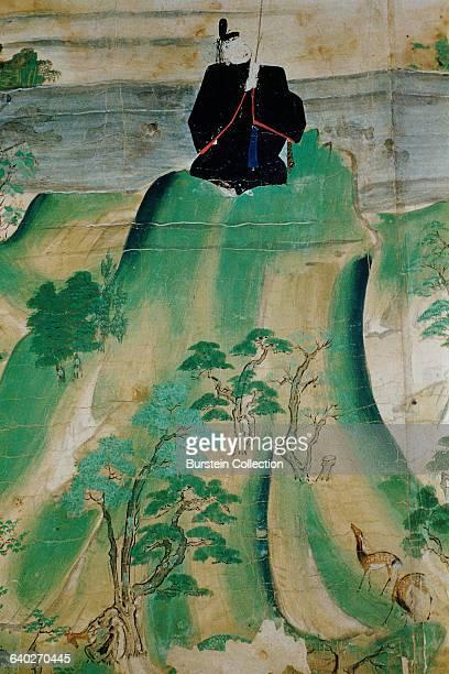 Detail of Kitano Tenjin Engi