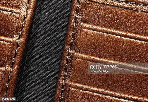 Detail of Leather Wallet