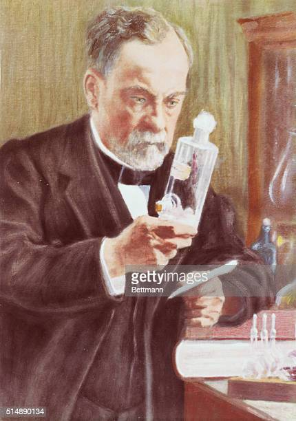 Detail of Louis Pasteur in His Laboratory by Albert Edelfelt