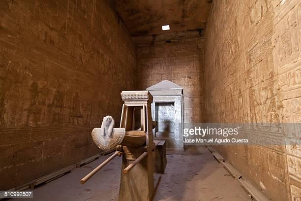 Detail of main chamber in Temple of Horus in Edfu