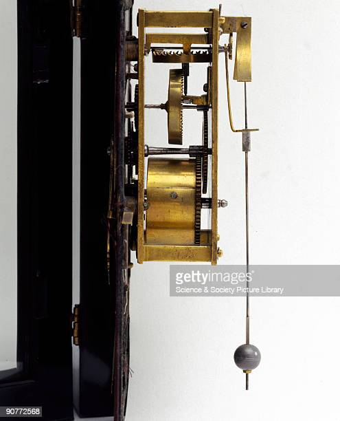 Detail of mechanism and pendulum This clock by Salomon Coster of the Netherlands is one of the earliest pendulum clocks ever made The Dutch scientist...