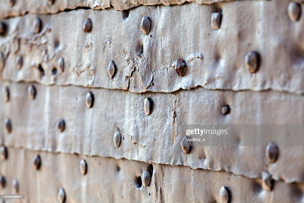Detalle de medieval puerta puerta : Foto de stock