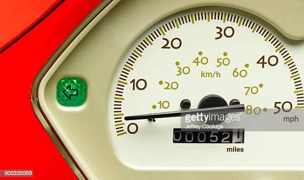 Detail of Moped Speedometer