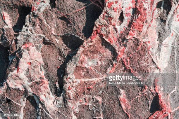 Detail of natural patterns in stone. Abstract backgrounds