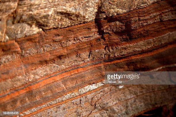 detail of natural patterns in stone, karijini national park, newman, western australia, australia - geology stock pictures, royalty-free photos & images