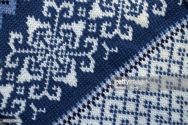 Detail of Norwegian Wool Sweater