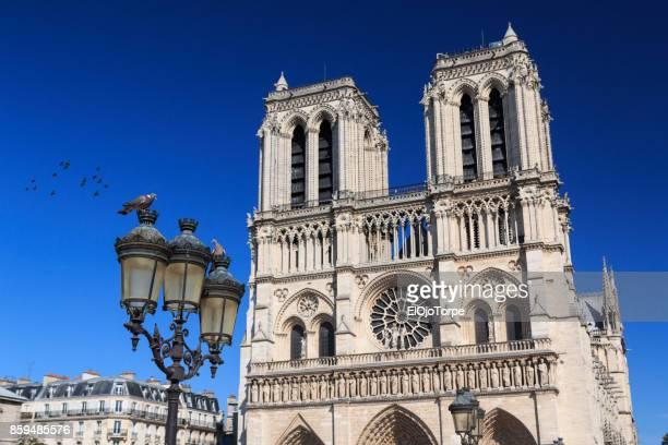 Detail of Notre Dame, Paris, France