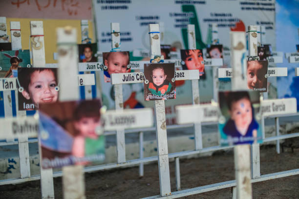 MEX: Commemoration Of The 11th Anniversary Of The Hermosillo Daycare Center Fire
