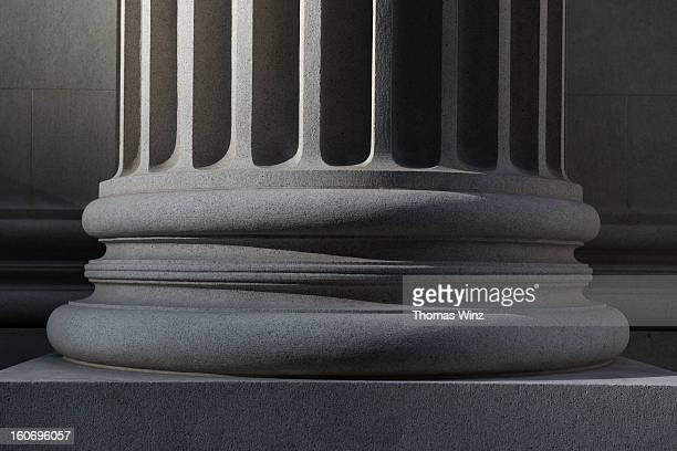 detail of pillar - stability stock pictures, royalty-free photos & images