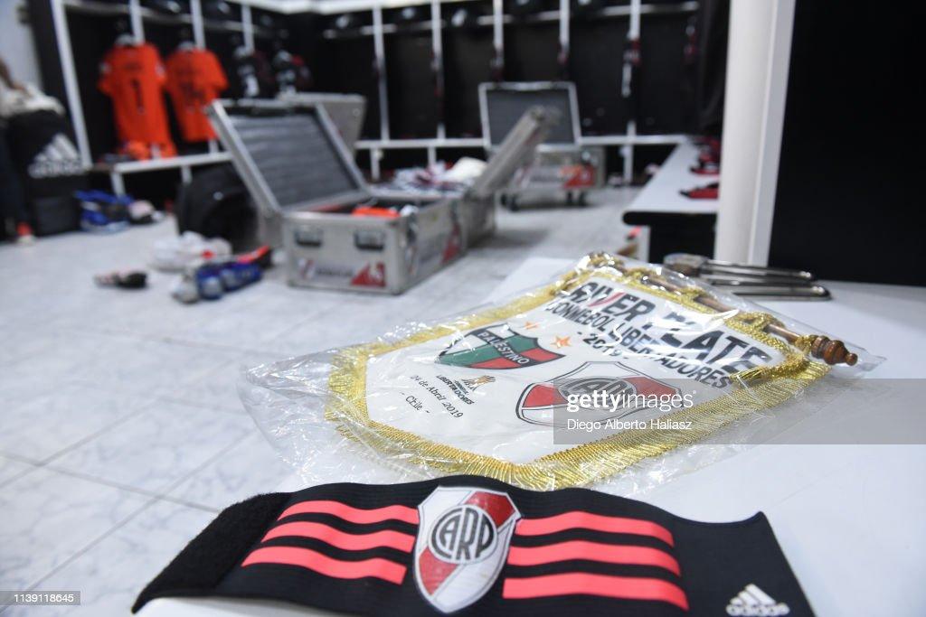 CHL: Palestino v River Plate - Copa CONMEBOL Libertadores 2019