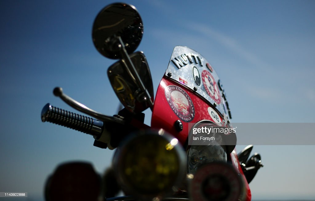 GBR: The Easter National Scooter Rally Held in Scarborough