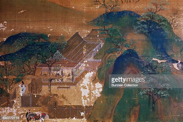 Detail of Senzui Byobu