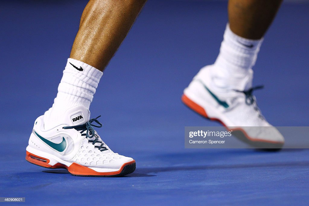 Detail Of Shoes And Legs Of Rafael Nadal Of Spain In His Second Round News Photo Getty Images